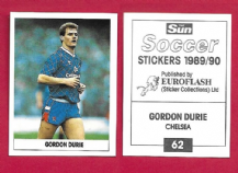 Chelsea Gordon Durie Scotland 62